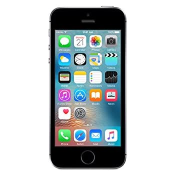 Apple iPhone SE Unlocked Phone -16 GB Retail Packaging - Space Gray
