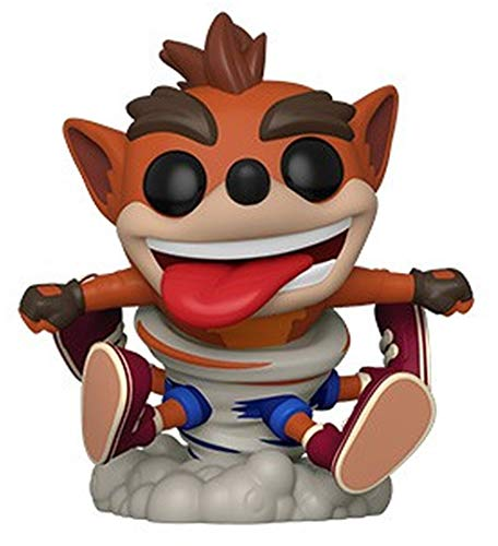 Funko Pop! Figura De Vinil Games Crash Bandicoot - Crash, Multicolor, Estandar
