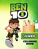 Ben 10 JUMBO Coloring Book: Coloring Book for Kids and Adults (Perfect for Children Ages 4-12)