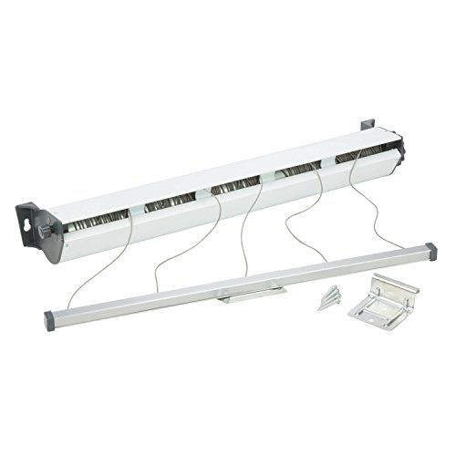 Honey-Can-Do DRY-03113 5-Line Retractable Dryer Rack, Indoor/Outdoor, 37.01