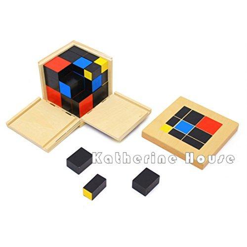DANNI Baby Toys Montessori Trinomial Cube Math Early Childhood Educational Preschool Training Learning Toy Birthday Gift