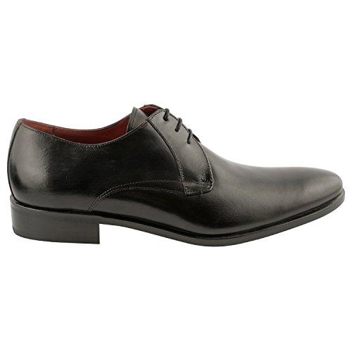 Exclusif ParisExclusif Paris Baldwin, Chaussures homme Chaussures de ville - Zapatos de Cordones Hombre Negro - negro