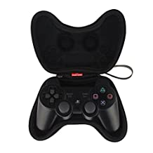 Puuli Playstation 4 Project Design Black Airform Controller Pouch Travel Case Bag Protector For PS4 Wireless Controller Gamepad