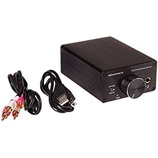 Discount Monoprice 111567 Desktop Headphone Amplifier