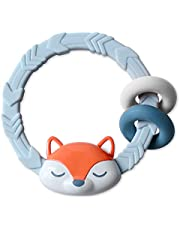 Itzy Ritzy Silicone Teether with Rattle