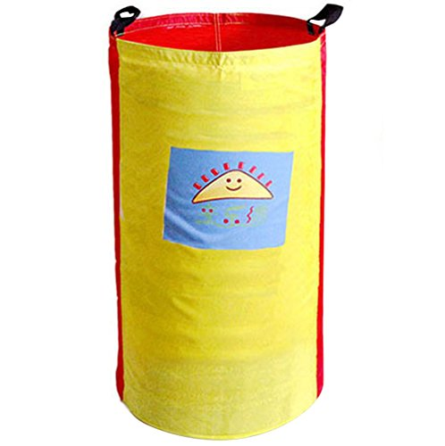 Chinatera Oxford Cloth Potato Sack Race Game Bags Kids Adult Birthday Party Outdoor School Backyard Activity Balance Training Tool Jumping Bags Toss 3 Leg Bean Bag 300D, Colors may vary (For Kids) - Kid May Bean