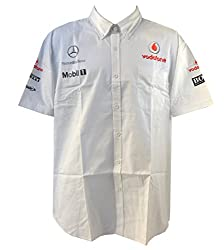 Vodafone McLaren Mercedes Team Crew Shirt (MED)