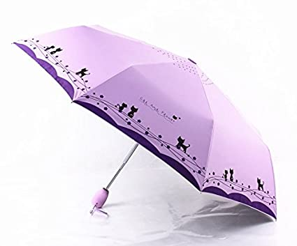 Autumn Water Windproof Cute Cat Automatic Sun Umbrella Women Parasol Lady Paraguas Plegable para Autos Mujer