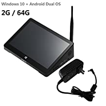 Tablet computer,Mini PC, TV box, original PIPO X9 Win 10 and Android 4.4 Dual Boot OS Intel Z3736F Quad Core Mini PC 8.9 inch Tablet 2G/64G