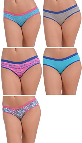 jordache-womens-5-pack-cotton-stretch-assorted-hipster-panties-floral-love-5