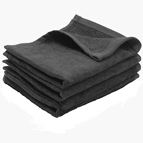 Show Car Guys Charcoal Grey Fingertip Towels 100% Cotton Terry-Velour 11