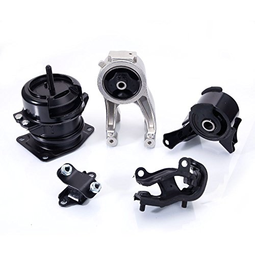 (Engine Motor & Trans w/Hydraulic Mount Set of 5 for 1999-2004 Honda Odyssey 3.5L A4518 A4519HY A6552 A6579 A6582)