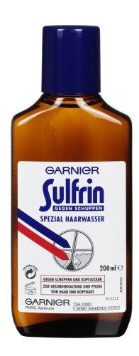 GARNIER Sulfrin Haarwasser gegen Schuppen / Haartonikum kräftigt das Haar 3 x 200ml