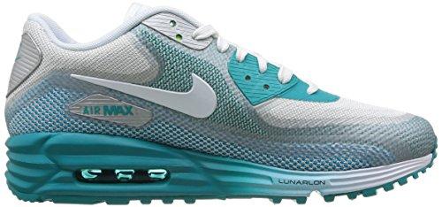 Air Wmns Lt Bs trb 0 mtllc Nike Gry Slvr Sneaker donna white Max 90 C3 5d668zx