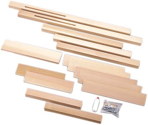 サンモク 木工キット スライド式もたれ椅子 8001901