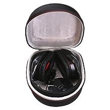 LTGEM EVA Hard Case Travel Carrying Storage Bag for Logitech Wireless Gaming Headset G933 G930 G430 G230 G35 Mac PC Game Headset/Headphone/ Microphone