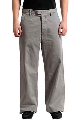 Dsquared2 Men's Gray Wide Leg Casual Pants US 28 IT 44; (Casual Dsquared2 Pants)