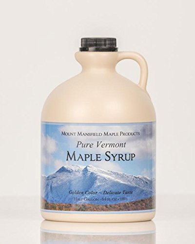 Mansfield Maple Pure Vermont Maple Syrup in Plastic Jug