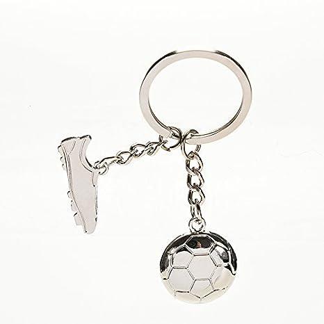 Llavero de metal con bola de fútbol RKG: Amazon.es: Juguetes ...