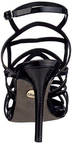 Negro Pulsera Para black Pu 01 Con Sandalia Patent 2933 Mujer Buffalo 317 qA1zRR