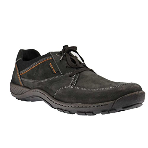 Josef Seibel Mens Nolan 40 Derby Nero