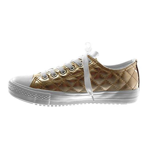 Zapato Deportivos Tennis Moda Zapatillas Mujer Angkorly Acolchado Tac qv7COwxznX