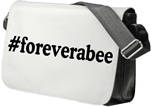 Schultertasche #forever a bee Schultasche, Sidebag, Handtasche, Sporttasche, Fitness, Rucksack Hashtag