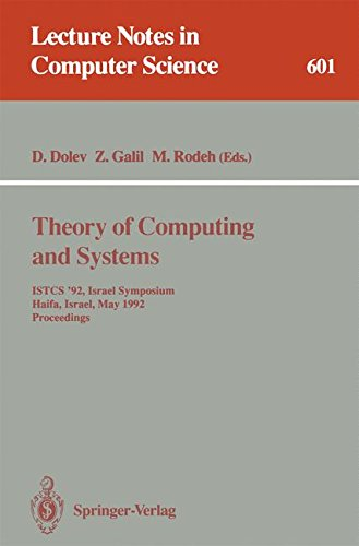 Theory of Computing and Systems: ISTCS