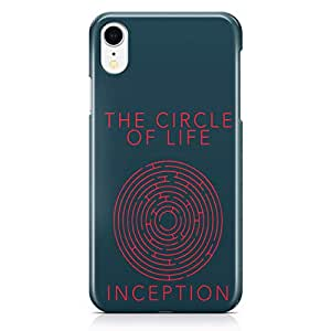 Loud Universe Inception Movie iPhone Xr Case Circle of Life iPhone Xr Cover with 3d Wrap around Edges
