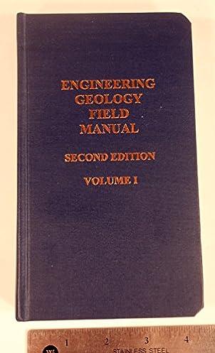 engineering geology field manual open source user manual u2022 rh userguidetool today