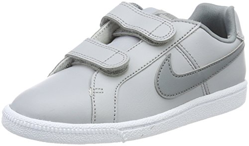 Nike Court Royale (PS), Zapatillas Para Niños Gris (Wolf Grey/cool Grey-white)