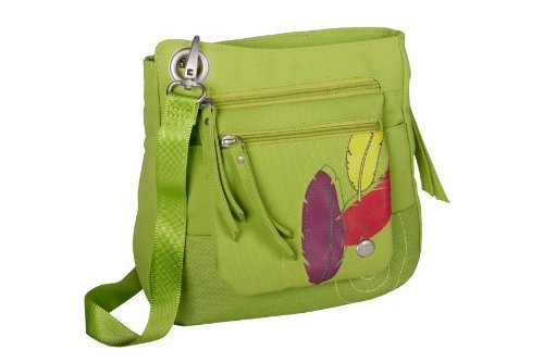 Haiku Women's Jaunt Eco Crossbody Handbag Apple Green [並行輸入品] B07DX8GBQ6
