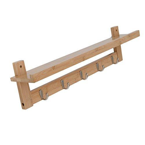 coat rack wall shelf - 3