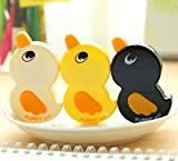 Ipienlee Correction Tape White Out Tape Cute Duck Shape for Writing Tape for School Kids Students, 6 pcs/Pack (Duck Correction Tape)