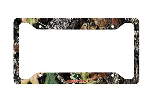 Mossy Oak License Plate - Airstrike Camo License Plate Frame, Mossy Oak Car Tag Frame, Camo License Plate Holder, Mossy Oak License Plate Frame Break Up Camo-30-8000