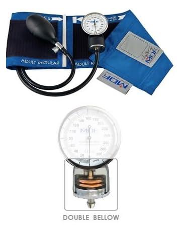MDF Calibra Pro MDF808B-14, Monitor Esfigmomanómetro aneroide profesional de presión arterial, Azul