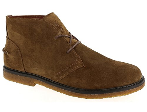 C2228 polacchino uomo POLO RALPH LAUREN MARLOW scarpa marrone shoe boot man Marrone chiaro