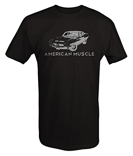(Stealth - American Muscle Pontiac GTO Muscle Classic CarT shirt - Xlarge)