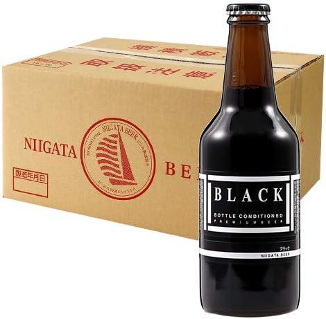 新潟麦酒 ブラックビール 310ml瓶 24本