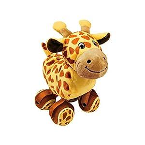 KONG Tennis Shoes Giraffe Dog Toy, Small