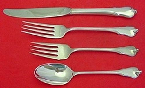 Grand Colonial Place - Grand Colonial By Wallace Sterling Silver Regular Size Place Setting(s) 4pc
