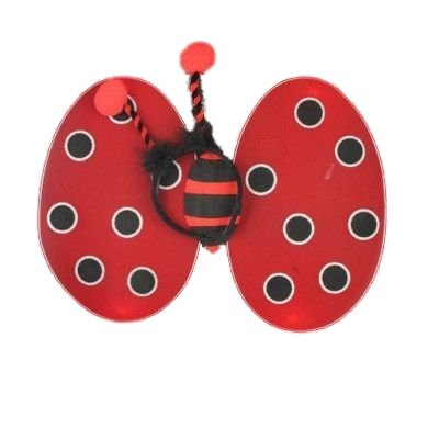 Red Ladybird Fair Wings and Deeley Boppers Perfect For Parties ,Birthdays ,Hen do ,Fancy Dress Suitable for Adults and Children by fashion accessory