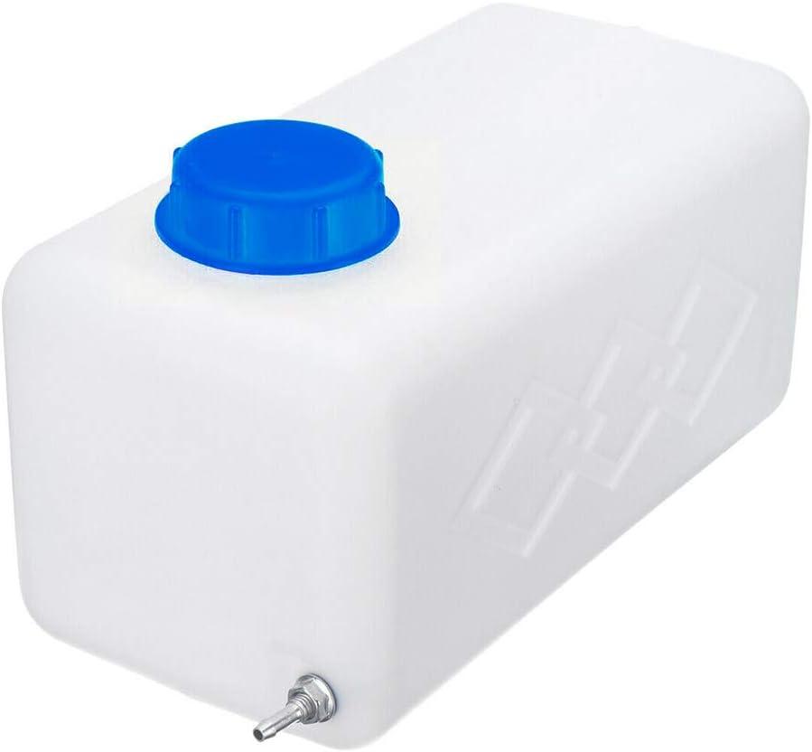 DesirePath Fuel Tank 5.5L Oil Gasoline Diesels Petrol Plastic Storge Canister Water Tank For Boat Car Truck Parking Heater Accessories Fuel Tank Lock Ring Tool/Blue