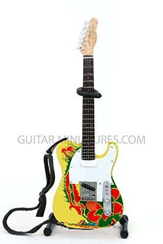 Jimmy Page Led Zeppelin Dragon Miniature Guitar (GMZ05)