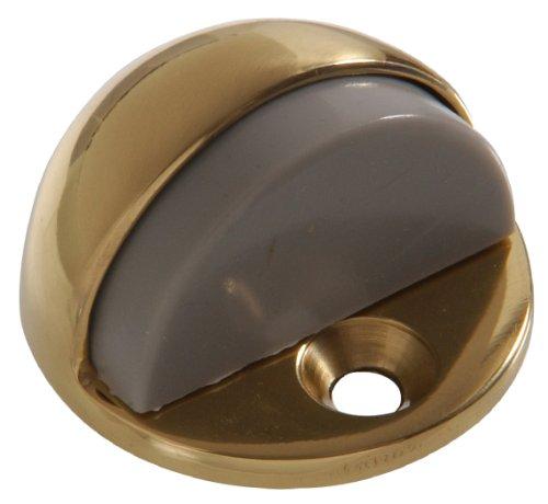 Hillman Hardware Essentials 851336 Low Dome Floor Door Stops Brass 1/4