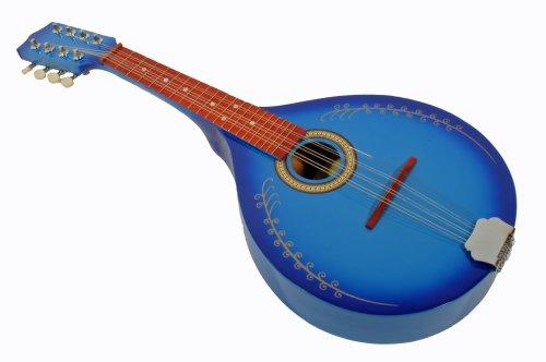 Cherrystone 4260180886641 B Mandoline mit Flachbauch blau-burst