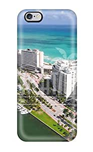 Myra Fraidin's Shop Iphone Case - Tpu Case Protective For Iphone 6 Plus- Miami City 7694582K53410288 WANGJING JINDA
