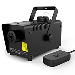 1byone 550ml Tank Mini Fog Machine with wired remote control - 400 Watt