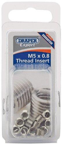 Draper Expert M5 x 0.8 Metric Thread Insert Refill Pack (12) - 21706