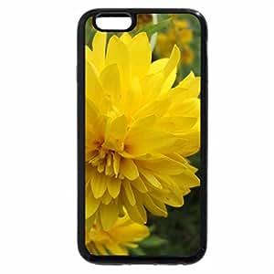 iPhone 6S / iPhone 6 Case (Black) yellow flower
